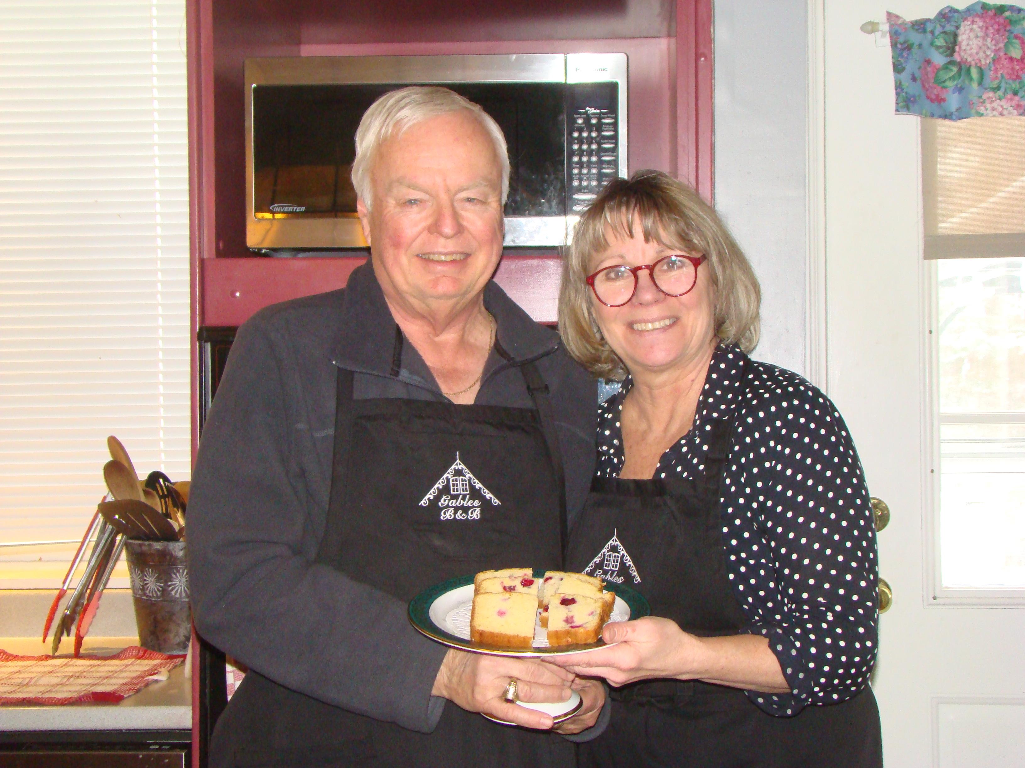 Lois & Bill - Gables Bed & Breakfast, Stayner Ontario